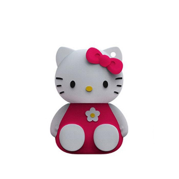 Iconik Hello Kitty 32GB, Pink USB-накопительRB-HKP-32GBФлеш-накопитель Hello Kitty имеет весьма нестандартный дизайн. Накопитель ударопрочный и защищен резиновым корпусом, а высокая пропускная способность и поддержка различных операционных систем делают его незаменимым. Iconik Hello Kitty - отличный выбор современного творческого человека, который любит яркие и нестандартные вещи.