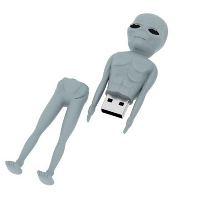 Iconik Аннуак 8GB USB-накопительRB-ALIEN-8GBФлеш-накопитель Iconik Аннуак имеет весьма нестандартный дизайн. Накопитель ударопрочный и защищен резиновым корпусом, а высокая пропускная способность и поддержка различных операционных систем делают его незаменимым. Iconik Аннуак - отличный выбор современного творческого человека, который любит яркие и нестандартные вещи.