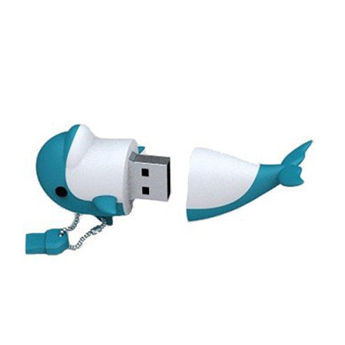 Iconik Дельфин 8GB USB-накопительRB-DOLP-8GBФлеш-накопитель Iconik Дельфин имеет весьма нестандартный дизайн. Накопитель ударопрочный и защищен резиновым корпусом, а высокая пропускная способность и поддержка различных операционных систем делают его незаменимым. Iconik Дельфин - отличный выбор современного творческого человека, который любит яркие и нестандартные вещи.