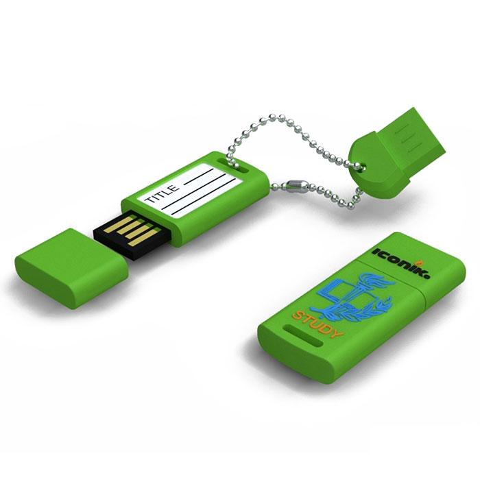 Iconik Для учебы 8GB USB-накопительRB-STUDY-8GBФлеш-накопитель Iconik для учебы имеет весьма нестандартный дизайн. Накопитель ударопрочный и защищен резиновым корпусом, а высокая пропускная способность и поддержка различных операционных систем делают его незаменимым. Iconik Для учебы - отличный выбор современного творческого человека, который любит яркие и нестандартные вещи.