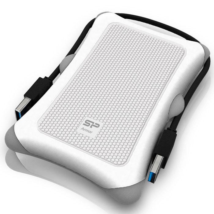 Silicon Power Armor A30 500GB, White внешний жесткий диск
