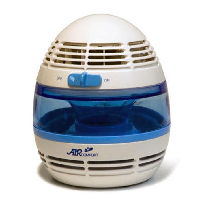 AirComfort HP-900Li увлажнитель-очиститель воздуха00000000052В увлажнителе-очистителе воздуха Air Comfort HP-900LI используется специальный фильтр водяного типа с антибактериальной пропиткой, который эффективно впитывает в себя воду. Вентилятор продувает и прогоняет комнатный воздух через фильтр, который постоянно находится во влажном состоянии, увлажняя и одновременно очищая воздух. Встроенный ионизатор насыщает воздух отрицательными ионами и делает воздух свежее и чище. Встроенный ионизаторПодсветка голубого цветаЭкономное энергопотреблениеНизкий уровень шумаИспарительный фильтр с антибактериальной пропиткойОчистка воздуха от крупной взвеси (пыль и т. д.)Элегантный дизайнИонизация воздуха: 1х103 /см3