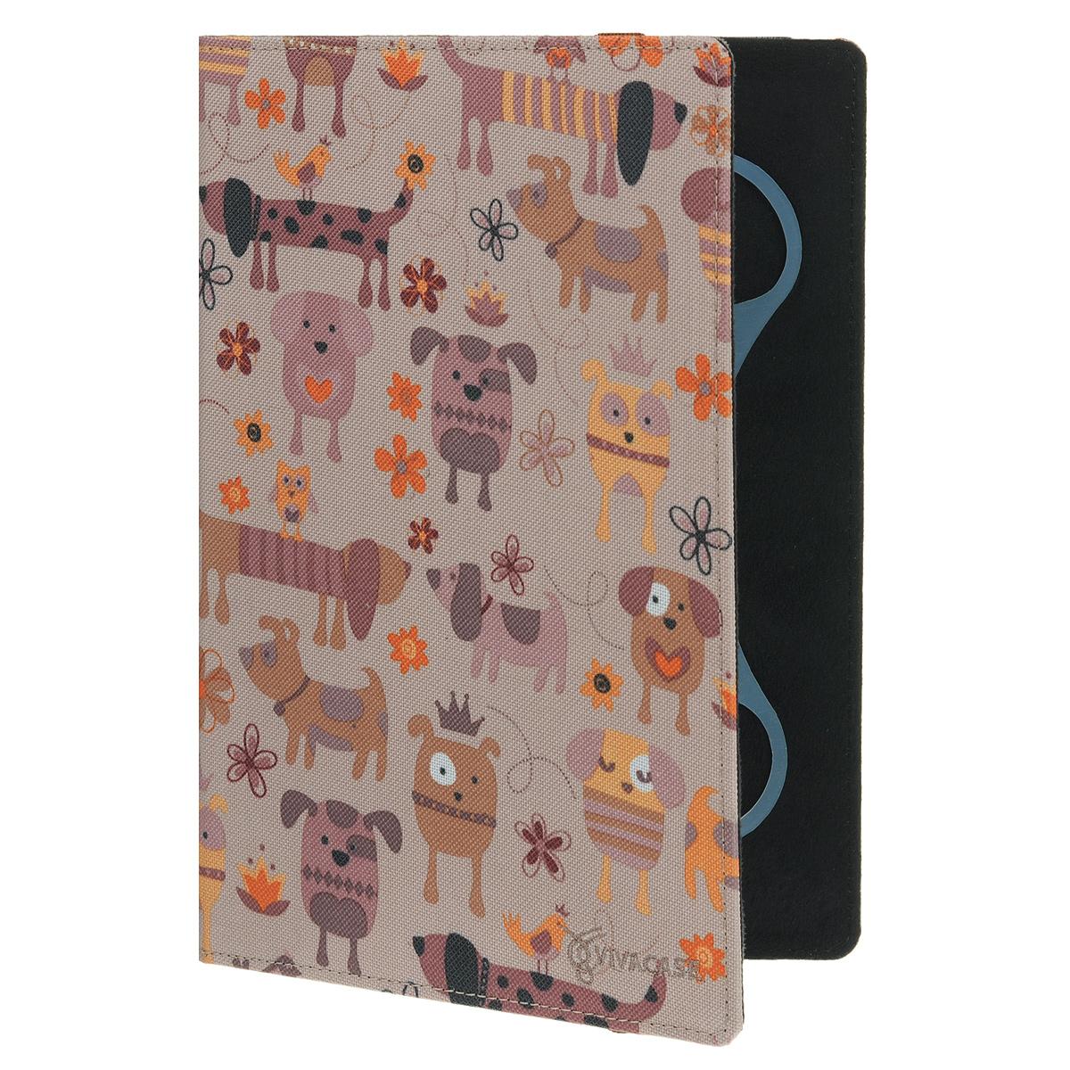 Vivacase Doggy чехол для планшетов 10 (VUC-CDG10)VUC-CDG10Чехол Viva Doggy для планшетов с диагональю 10 предназначен для защиты электронных устройств от механических повреждений и влаги.Крепление EVS позволяет надежно зафиксировать устройство.