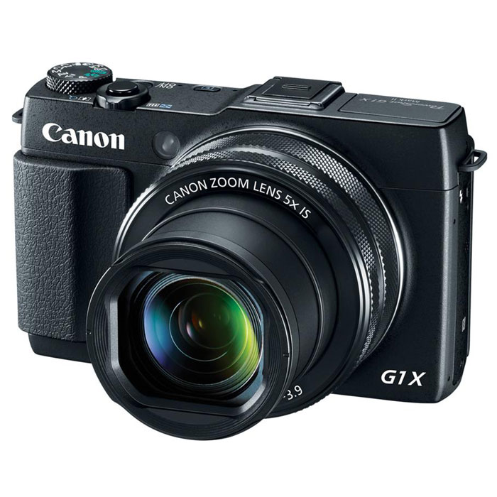 Canon PowerShot G1 X Mark II, Black цифровая фотокамера canon powershot g1 x mark ii черный