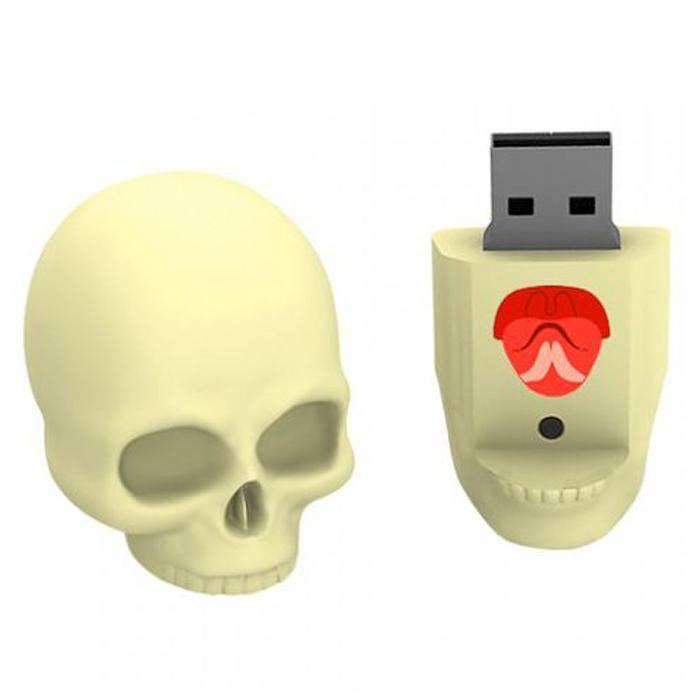 Iconik Череп 8GB USB-накопитель - Носители информации