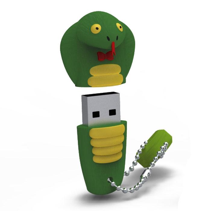 Iconik Змея 16GB USB-накопительRB-SNAKE-16GBФлеш-накопитель Iconik Змея имеет весьма нестандартный дизайн. Накопитель ударопрочный и защищен резиновым корпусом, а высокая пропускная способность и поддержка различных операционных систем делают его незаменимым. Iconik Змея - отличный выбор современного творческого человека, который любит яркие и нестандартные вещи.
