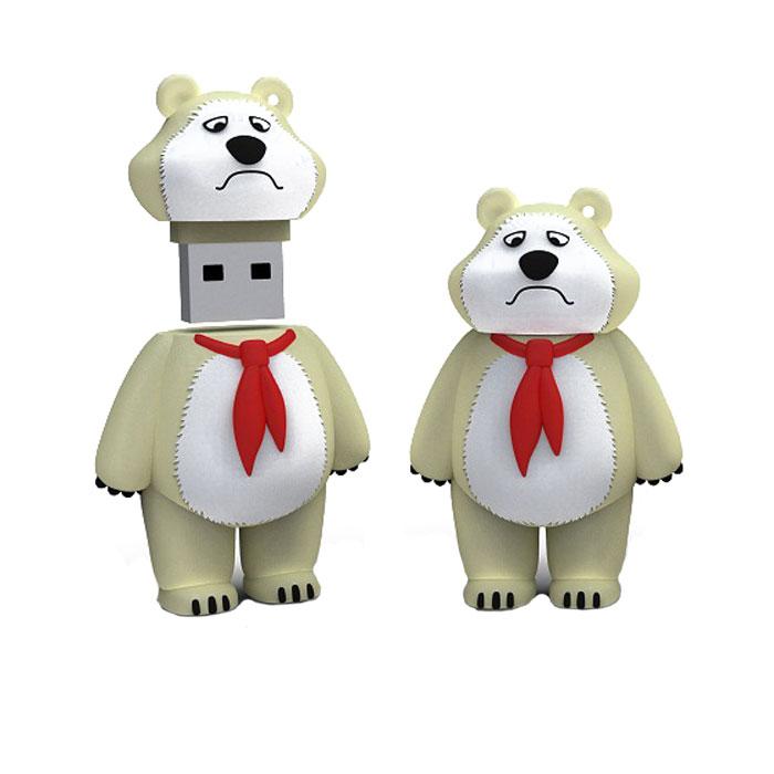 Iconik Мишка-пионер 16GB USB-накопительRB-BEARP-16GBФлеш-накопитель Iconik Мишка-пионер имеет весьма нестандартный дизайн. Накопитель ударопрочный и защищен резиновым корпусом, а высокая пропускная способность и поддержка различных операционных систем делают его незаменимым. Iconik Мишка-пионер - отличный выбор современного творческого человека, который любит яркие и нестандартные вещи.