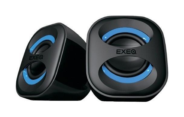 EXEQ SPK-2106, Blue акустическая системаSPK-2106 blueОписание EXEQ SPK-2106Акустическая система Exeq SPK-2106 – это набор компактных и стильных колонок, обеспечивающих громкий и качественный звук. Классический дизайн колонок удачно впишется в любой интерьер, а небольшие размеры не потребуют много места для размещения данной системы. Акустическая система может быть подключена к любому электронному устройству при помощи стандартного звукового выхода 3,5 мм. Питание Exeq SPK-2106 осуществляется с помощью USB-порта. Еще одной особенностью колонок является наличие фазоинвертора, благодаря которому вы получите великолепное звучание низких частот, без искажения и помех.