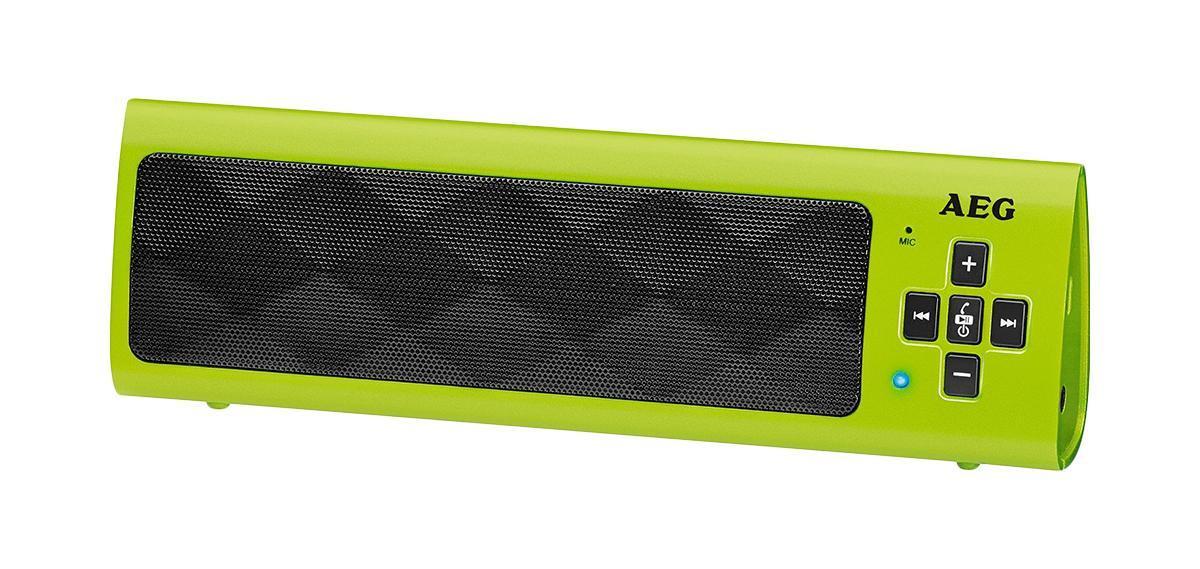 AEG BSS 4818, Green Bluetooth-аудиосистема
