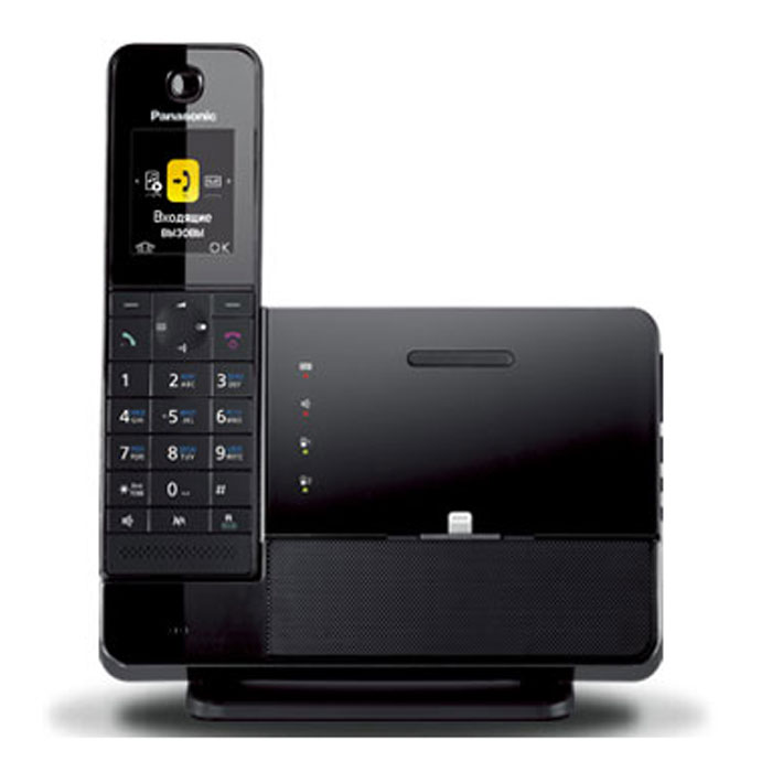 Panasonic KX-PRL260RUB DECT телефон с док-станцией для iPhone kx tga806 rub panasonic