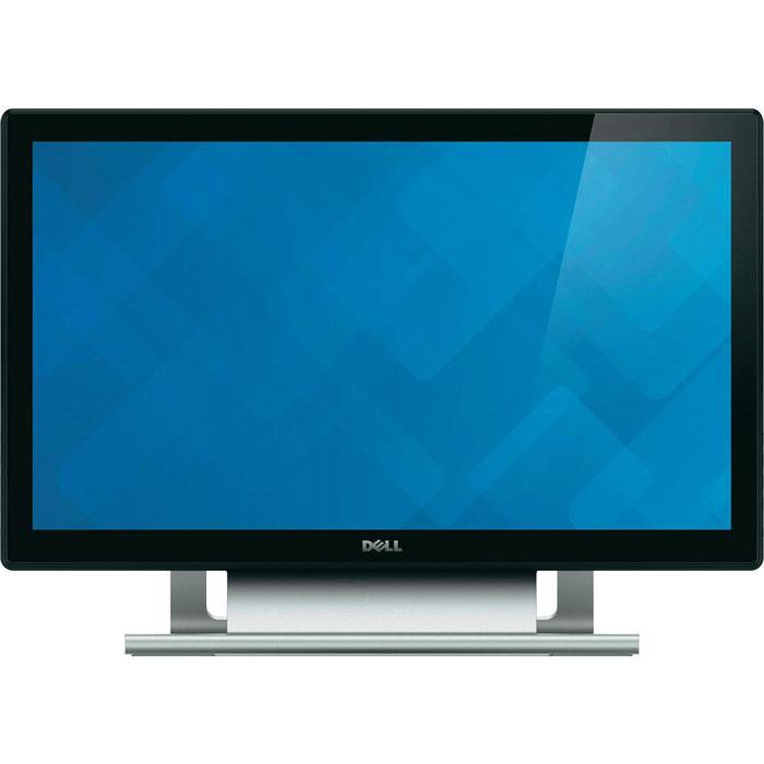 Dell S2240T Touch монитор2240-7766Сенсорный монитор Dell с диагональю 54,6 см (21,5 дюйма) и отслеживанием 10 точек касания обеспечивает великолепную четкость изображения и удобство использования в сочетании c качественной эффективной конструкцией.Созданный для поддержки совместной работы и повышения производительности 21,5-дюймовый сенсорный монитор Dell предлагает пользователям высокий уровень приспособленности для работы, учебы и развлечений.Эргономичная подставка:Плавно пододвигайте дисплей к себе, свободно касайтесь и печатайте, регулируйте угол наклона монитора до 60°. Хорошо подходит для учебных аудиторий, домашних офисов, клиник, а также других профессиональных применений.Совместимость со стандартом VESA:Вы можете смонтировать монитор на стене или установить его на кронштейне Dell Single Monitor Arm, чтобы наслаждаться еще более широкими возможностями просмотра.Встроенные возможности подключения: Порты HDMI, DVI и VGA обеспечивают прямое подключение к настольному компьютеру, ноутбуку, камере, телефону и другим электронным устройствам для расширения возможностей просмотра почти любого устройства.Проецирование изображений.:Управлять прикосновением просто! Просто соедините компьютер с передающим USB-портом монитора при помощи USB-кабеля и используйте кабель HDMI, DVI или VGA для вывода изображения на экран.Нажимайте, перетаскивайте, прокручивайте, листайте, уменьшайте и растягивайте с помощью пальцев. Мультисенсорный ввод прост и интуитивен при использовании с Windows 8; одновременно распознается до 10 точек касания.Экран с отличной четкостью:Разрешение Full HD 1920 x 1080 с соотношением сторон 16:9; высокий коэффициент контрастности 3 000:1 (номинал); высокий динамический коэффициент контрастности примерно оценивается в 8 млн:1 (макс.); широкий угол обзора 178°/178° для эффективной совместной работы.Безрамочный дисплей со стеклянной панелью:Большой, четкий монитор для свободного сенсорного ввода и функция улучшения цветов Image Enhance, созданная для увеличени