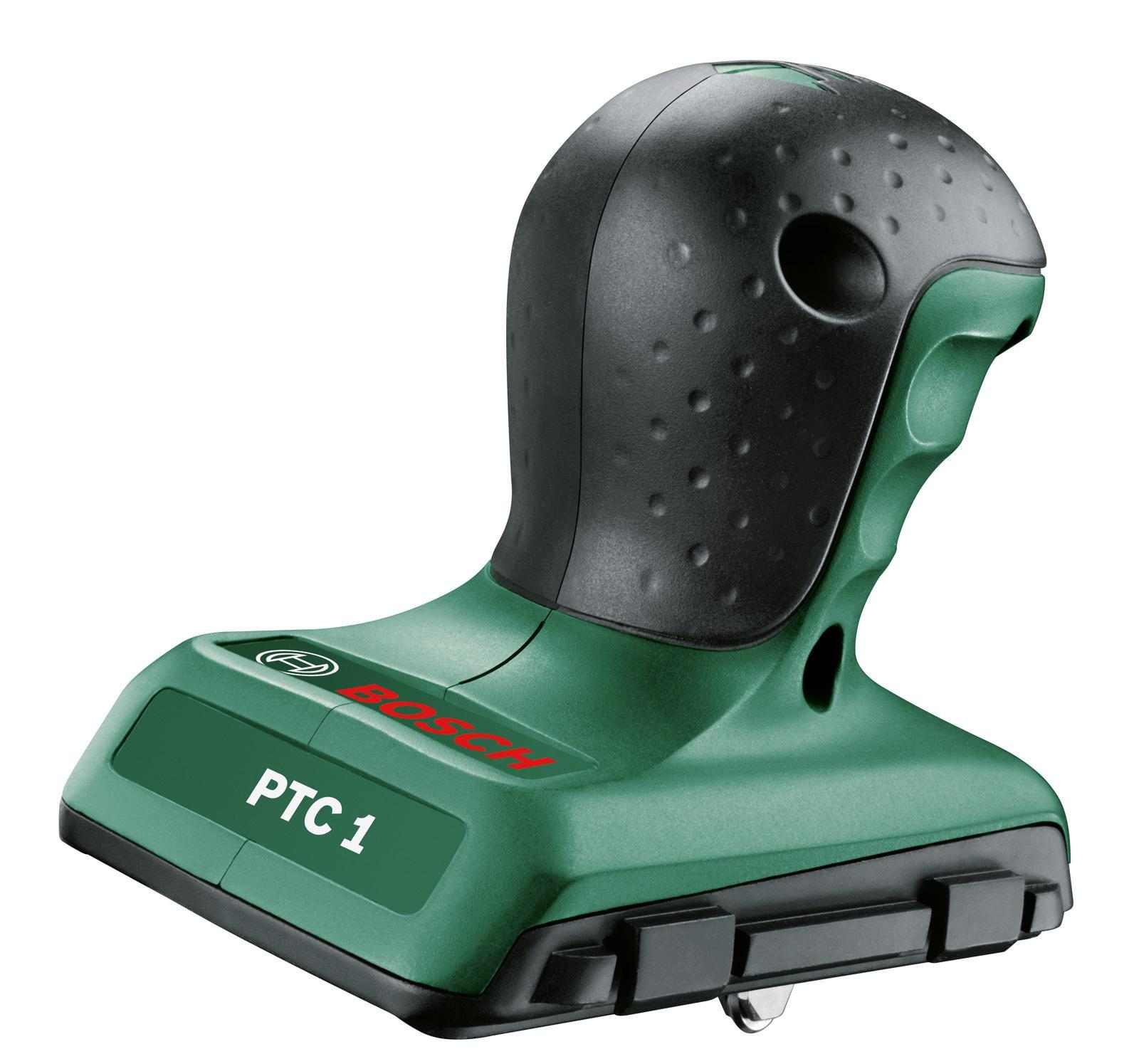 Плиткорез Bosch PTC 1, 300 ммPTC 1С помощью плиткореза Bosch PTC 1 можно без труда выполнять разметку и резку керамической плитки или стекла под углом в диапазоне от -45° до +45°Эргономичность и легкость в использовании.Точное ведение благодаря направляющему каналу.