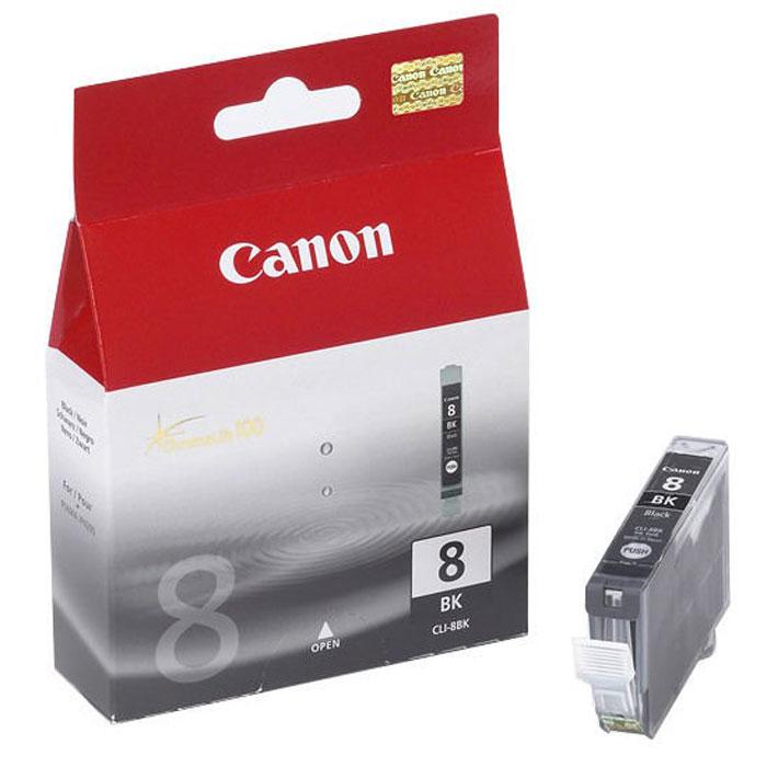 Canon CLI-8, Black картридж для струйных МФУ/принтеров0620B024Картридж с чернилами Canon CLI-8.