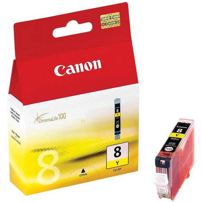 Canon CLI-8, Yellow картридж для струйных МФУ/принтеров0623B024Картридж с чернилами Canon CLI-8.