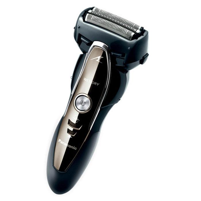 Panasonic ES-ST25KS820 электробритваES-ST25KS820Быстрое, бережное и эффективное бритье – это возможно с электробритвой Panasonic ES-ST25KS820. Лезвия бритвы из японской стали с заточкой 30 градусов совершают 13000 оборотов в минуту, поэтому уже через несколько минут кожа становится абсолютно чистой. При этом на коже не остается порезов и раздражений - модель меняет скорость движения в зависимости от плотности щетины. Встроенный выдвижной триммер позволяет привести в надлежащий вид бороду и усы.Устройство удобно при эксплуатации, очищении и переноске. Бритва имеет эргономичную конструкцию – она легко фиксируется в руке, не вызывая нагрузки. Чтобы очистить прибор, просто промойте его под струей воды: застрявшие волосы и щетина легко устраняются благодаря наличию подвижных заслонок. С зарядкой бритвы не возникает проблем, где бы Вы ни находились, - она адаптируется к любому напряжению.