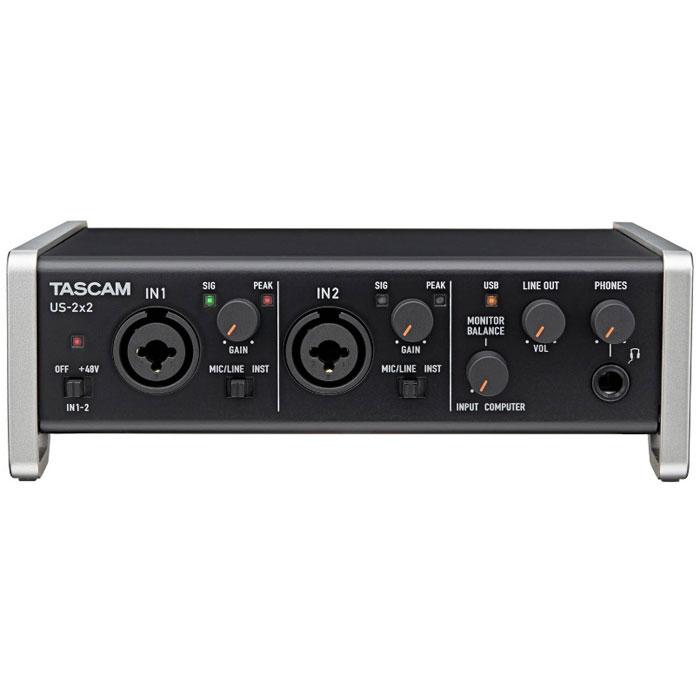 Tascam US-2x2 аудиоинтерфейс