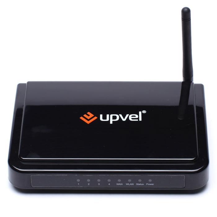 UPVEL UR-315BN маршрутизаторUR-315BNWi-Fi роутер стандарта 802.11n с поддержкой IP-TV UR-315BN обеспечивает скорость передачи данных до 150 Мбит/с, позволяет скачивать файлы больших размеров и просматривать видео в HD качестве без задержек по скорости.В комплект поставки входит диск с «Мастером быстрой настройки», который поможет подключить роутер в считанные минуты. Для российских пользователей компания UPVEL разработала новую версию микропрограммного обеспечения, которое поддерживает протоколы Russian PPPoE, Russian PPTP и Russian L2TP и функцию Цифрового Телевидения (IP-TV).Использование роутера с Wi-Fi адаптерами UPVEL стандарта 802.11n обеспечит максимальную производительность Wi-Fi сети.