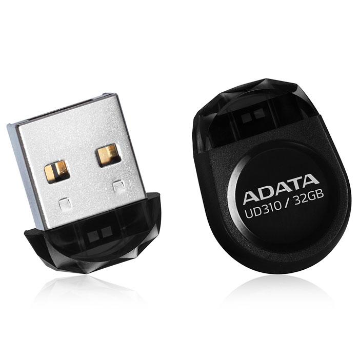 ADATA UD310 32GB, Black USB-накопительAUD310-32G-RBKADATA UD310 - это удобное и прочное устройство хранения данных, изготавливаемое по современной технологии кристалл-на-плате (СОВ), которая гарантирует идеальную водостойкость и защиту данных. Миниатюрную, в форме драгоценного камня, флэшку UD310 можно оставить вставленной в ультрабук или ноутбук надолго, она не будет ни за что зацепляться.Искрящийся корпус , в форме ограненного бриллианта, подчеркивает ультракомпактную и сверхпортативную конструкцию флэшки UD310, занимающей минимум места при её использовании в переносном или настольном компьютере. Возможность без ограничений обмениваться вашими видео, музыкальными и графическими файлами делает UD310 идеальным аксессуаром для компьютеров ультрабук и множества других тонких и сложных электронных устройств, при этом в любое время гарантирующим защиту ваших бесценных данных.