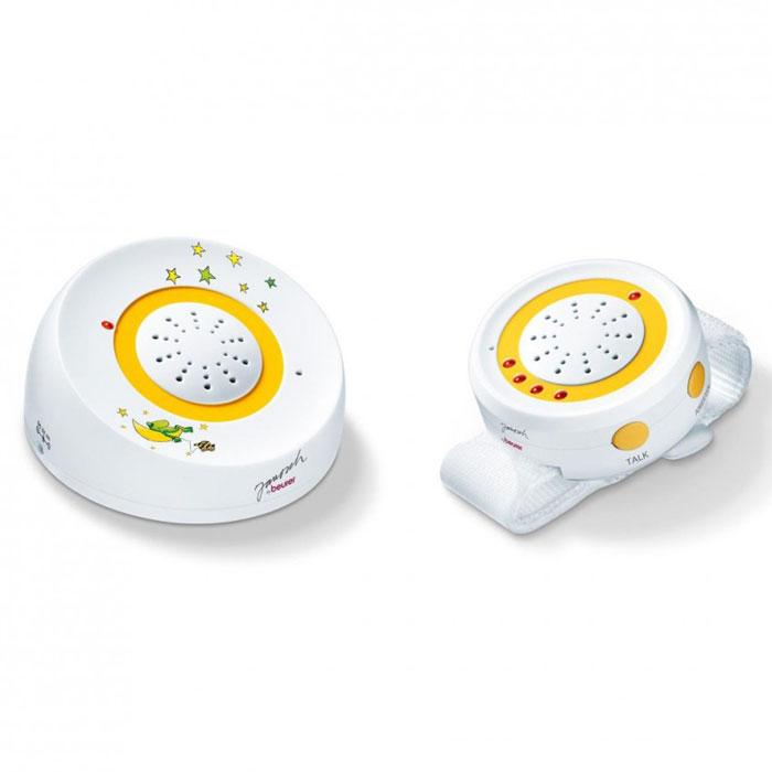 С радионяней Beurer JBY 92 вы можете спокойно заниматься домашними делами в то время, когда ребенок спит. Она обладает 69 различными каналами связи и может работать до 48 часов непрерывно, а удобный ремень на запястье позволит быть максимально свободным. У этой радионяни есть технология FHSS, что обеспечивает бесперебойный сигнал защищенный от прослушивания, при этом дальность действия составляет 250 м.