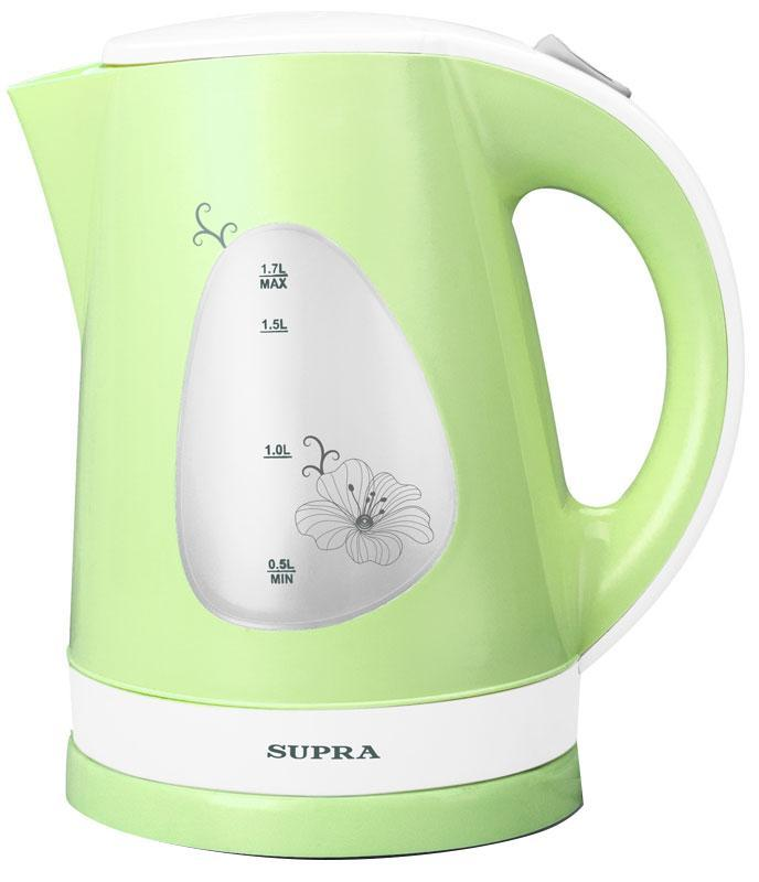 Supra KES-1708, Green электрический чайник