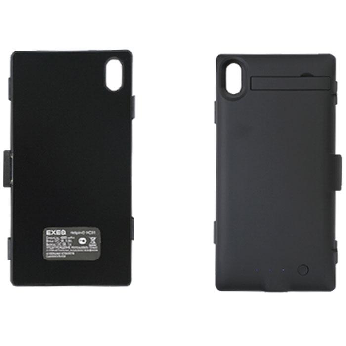 EXEQ HelpinG-XC01 чехол-аккумулятор для Sony Xperia Z1, Black (4300 мАч, клип-кейс) sony dk31 для xperia z1 black купить