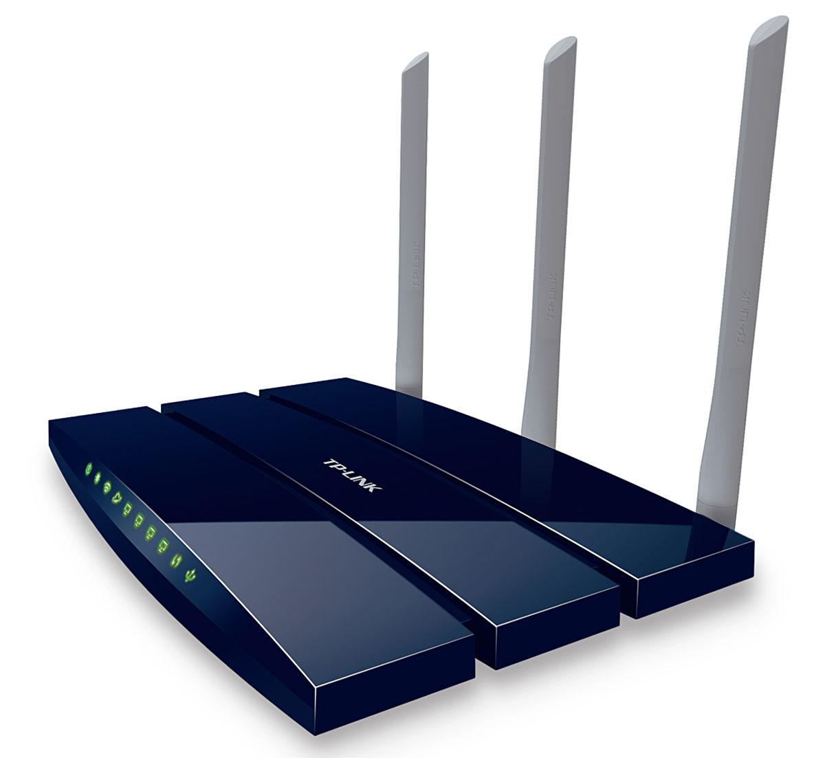 TP-Link TL-WR1045ND беспроводной маршрутизаторTL-WR1045NDБеспроводной гигабитный маршрутизатор TL-WR1045ND - это комбинированное сетевое устройство для создания проводного и беспроводного подключения, совмещающее в себе интернет-маршрутизатор и 4-портовый коммутатор. Устройство позволяет создавать беспроводную сеть со скоростью подключения до 450 Мбит/с, что позволит вам одновременно просматривать потоковое видео в формате HD, пользоваться IP-телефонией, обмениваться крупными файлами и играть в онлайн-игры. Устройство оснащено портом USB для подключения к сети устройств хранения данных, обеспечивающих удобство обмена данными внутри сети.Благодаря встроенному гигабитному коммутатору Ethernet модель TL-WR1045ND предоставляет больше возможностей обработки данных, что позволит в полной мере раскрыть потенциал сверхбыстрого стандарта N. Забудьте про снижение скорости при передаче данных между мегабитным проводным и 11n беспроводным соединениями. Любой трафик будет обрабатываться быстрее и эффективнее, таким образом, пользователи смогут насладиться потоковым видео высокой чёткости без задержек соединения, а также передавать большие файлы в считанные минуты.Внешние съёмные антенны с возможностью регулировки и замены на более мощныеОбратная совместимость с устройствами, поддерживающими стандарты 802.11b/gФункция приоритезации данных (QoS) гарантирует качество IP-телефонии и трансляции мультимедиаЛокальное управлениеУдалённое управлениеЗащита от DoS-атаки, межсетевой экран SPI, фильтрация IP-адресу/MAC-адресу, доменному имени, привязка по IP- и MAC-адресу