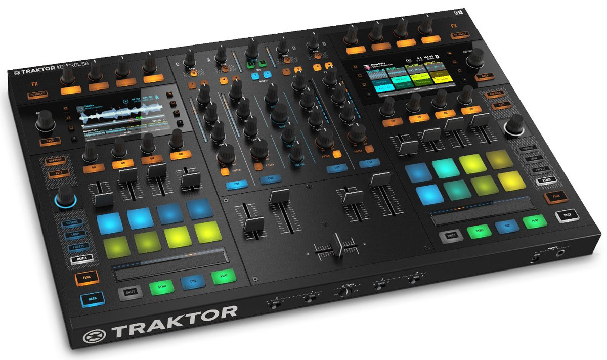 Native Instruments Traktor Kontrol S8 DJ-пульт - DJ-оборудование