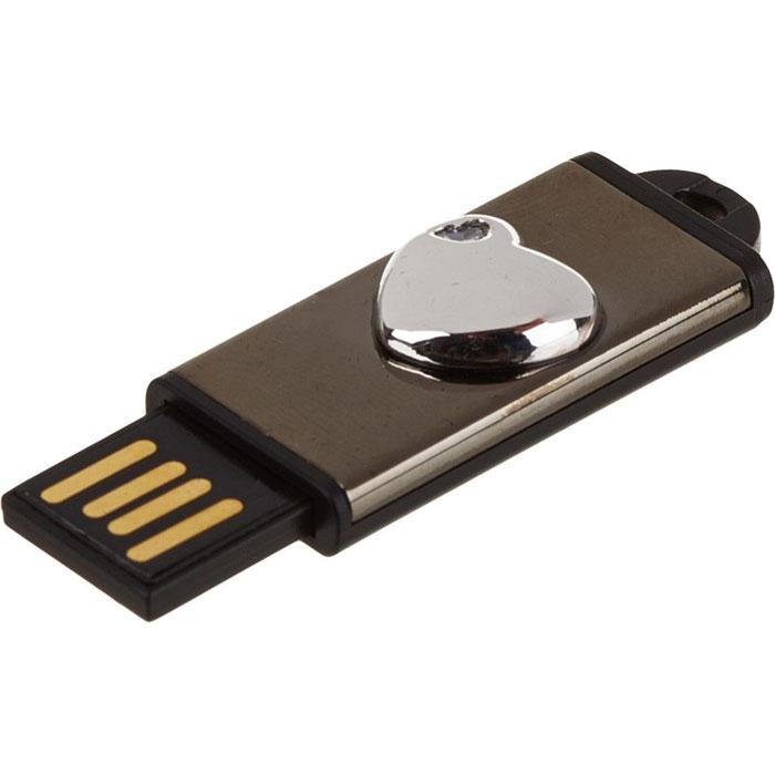 Iconik Сердечко Swarovski Crystal 8GB, Silver USB-накопительMTFC-HEARTS-8GBОригинальный USB-накопитель Iconik Сердечко Swarovski Crystal, в виде миниатюрного сердечка, станет приятным подарком любимому человеку. Элегантный металлический корпус обеспечивает надежную защиту встроенного коннектора от пыли и загрязнений.