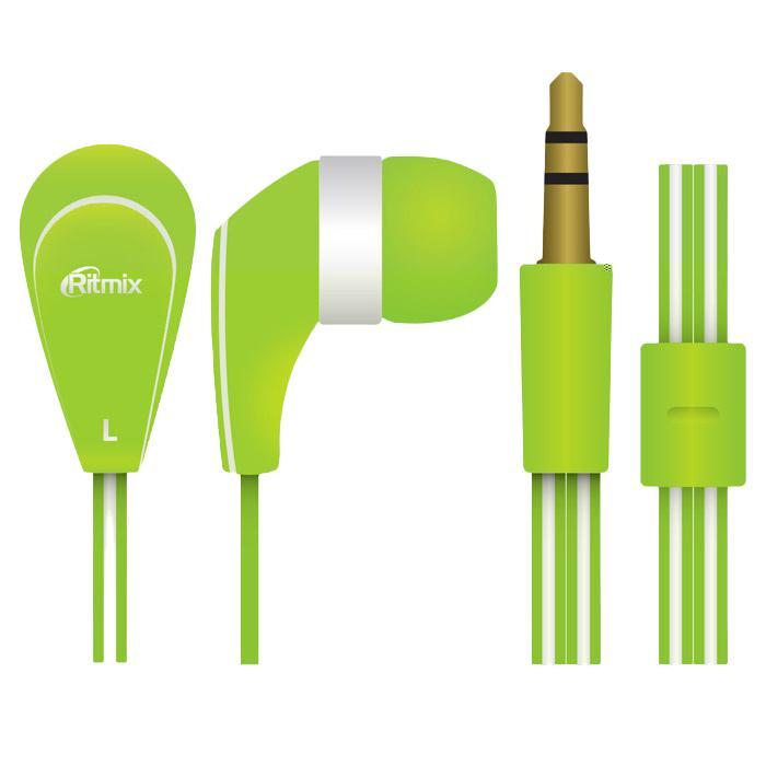Ritmix RH-181, Green наушники