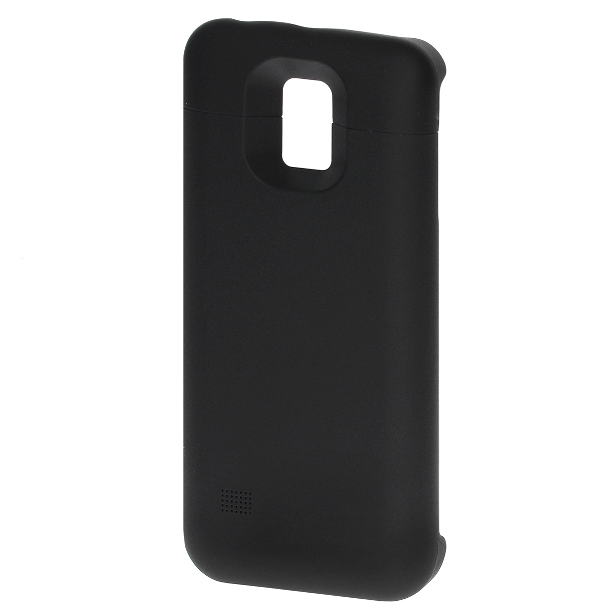 EXEQ HelpinG-SC09 чехол-аккумулятор для Samsung Galaxy S5 mini, Black (3300 мАч, клип-кейс) exeq helping sf02 чехол аккумулятор для samsung galaxy s3 mini white 1900 мач флип кейс