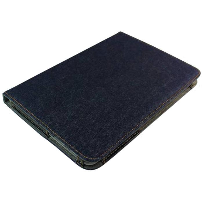IT Baggage Jeans чехол для Samsung Galaxy Tab 2 10.1 P5100/P5110, Black BlueITSSGT1028-4IT Baggage Jeans для Samsung Galaxy Tab 2 10.1 - удобный и надежный чехол для планшета Samsung Galaxy Tab 2 10.1, который надежно защищает ваше устройство от внешних воздействий, грязи, пыли, брызг. Также он поможет при ударах и падениях, смягчая их, и не позволяя образовываться на корпусе царапинам, потертостям. Чехол весьма долговечен и практичен, он подчеркнет ваш отличный вкус.