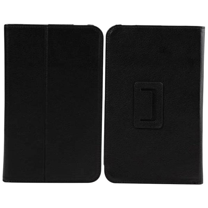 IT Baggage чехол для Lenovo IdeaTab 7 A1000, BlackITLNA1000-1IT Baggage для Lenovo IdeaTab 7 A1000 - удобный и надежный чехол, который надежно защищает ваше устройство от внешних воздействий, грязи, пыли, брызг. Конструкция точно повторяет форму планшета, оставляя открытыми активную область сенсорного экрана и разъемы устройства. Плотная крышка имеет ребро жесткости, позволяющее использовать ее как подставку для фиксации планшета в горизонтальном положении.