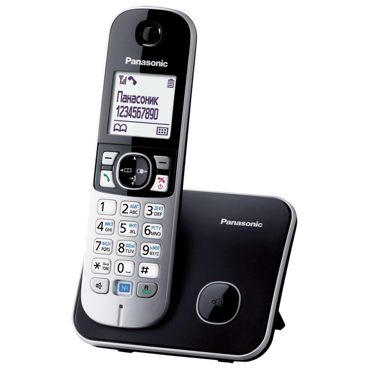 Panasonic KX-TG6811 RUB, Black DECT-телефонKX-TG6811RUBDECT телефон Panasonic KX-TG6811.Функция радионяня - Вы можете осуществлять акустический контроль помещения, например, детской из других комнат в доме - одна трубка устанавливается рядом с ребенком, а вторая у родителей.Снижение фонового шума позволяет улучшить качество связи.
