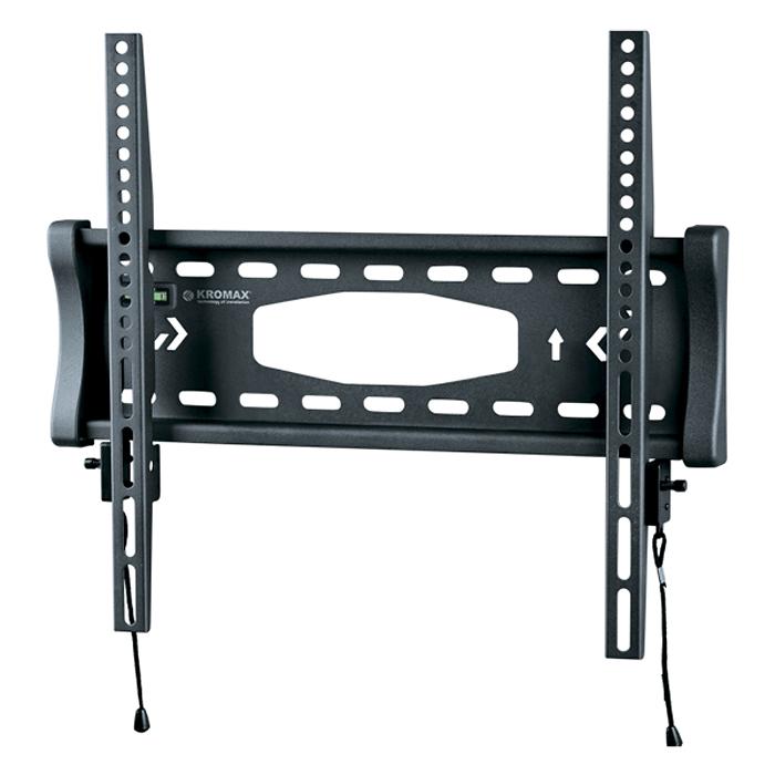 Kromax Star-3 New, Grey кронштейн для ТВ152644Фиксированный кронштейн Kromax Star-3 New для ЖК (LCD) телевизоров и плазменных панелей с расстоянием от стены - 39 мм. С помощью технологии TechLock, Вы легко сможете снять ТВ с кронштейна вместе с направляющими. Максимальные посадочные отверстия по горизонтали - 460 мм, по вертикали - 410 мм.