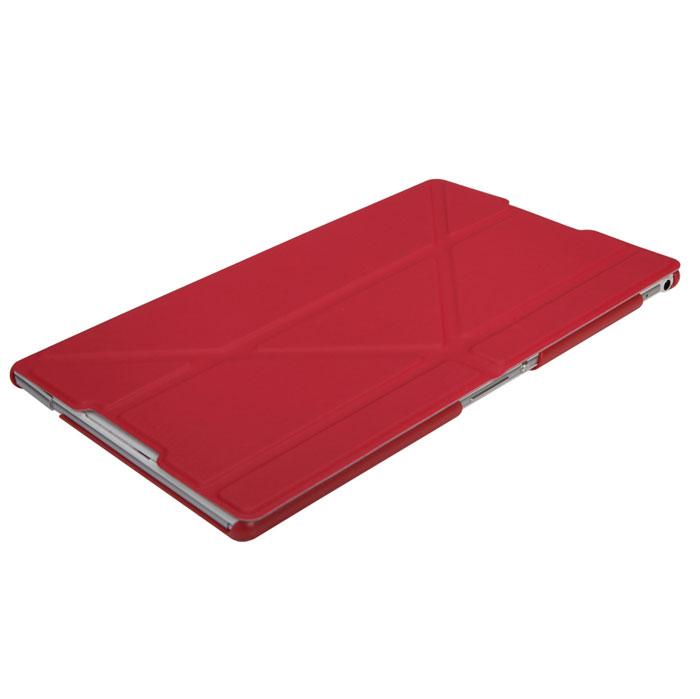 IT Baggage чехол для Sony Xperia Z3 Tablet Compact, RedITSYZ301-3Чехол IT Baggage для планшета Sony Xperia Z3 Tablet Compact - это стильный и лаконичный аксессуар, позволяющий сохранить планшет в идеальном состоянии. Надежно удерживая технику, обложка защищает корпус и дисплей от появления царапин, налипания пыли. Имеет свободный доступ ко всем разъемам устройства.
