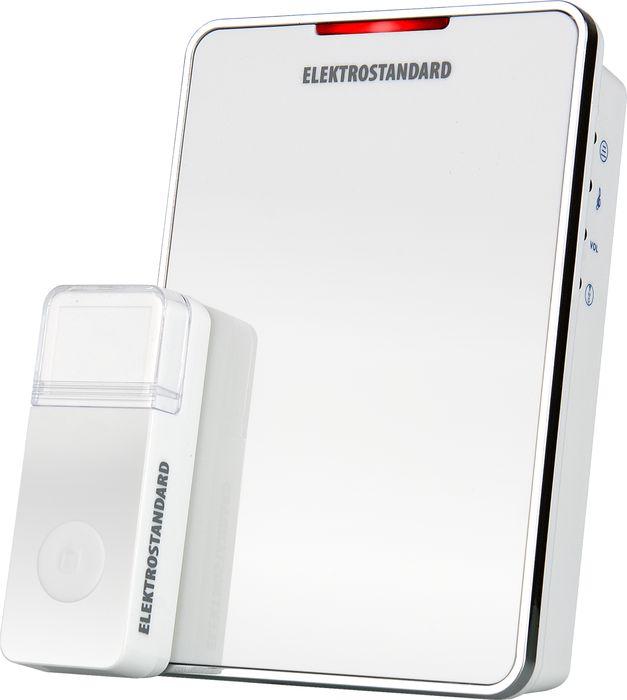 Elektrostandard звонок беспроводной DBQ05M, цвет: белыйa026145Данная модель рассчитана на работу от элементов питания типа АА. Это позволяет устанавливать звонок в любом месте квартиры или коттеджа и при необходимости легко перемещать его. Благодаря минимальному энергопотреблению, стандартный комплект элементов питания обеспечит работу звонка до 3 лет при средней частоте срабатывания 5 раз в день.Режимы работы звонка:1. звуковой + световой сигналы;2. звуковой сигнал;3. световой сигнал. Особенности:Регулятор громкости;Световая индикация.