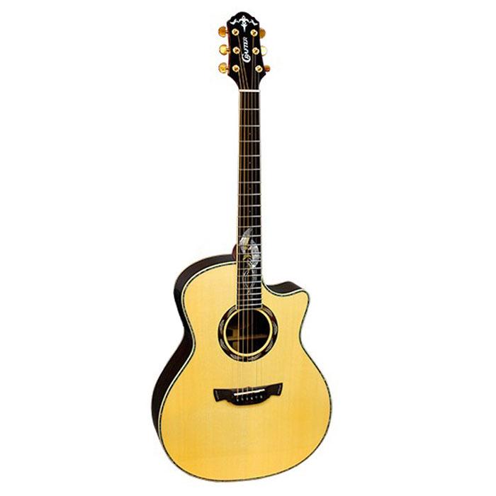Crafter SM-Rose Plus электро-акустическая гитара + кейс - Гитары