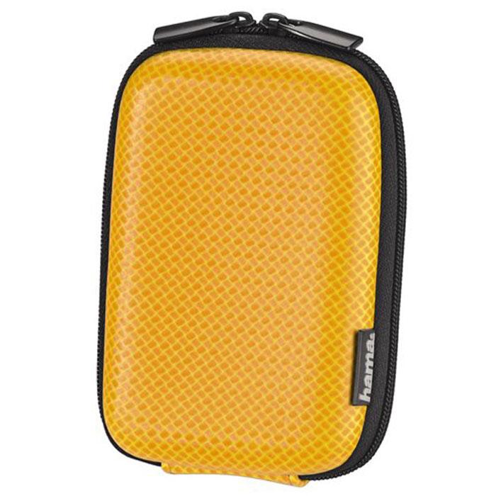 Hama Carbon Style 60H, Orange чехол для фотокамеры023141Сумка Hama Carbon Style 60H для цифровой фото камеры. Имеет внутреннее отделение для карт памяти, ремешок для переноски с карабином. Так же оснащена петлей для ношения на поясе. Жесткий корпус.Внутренний размер: 6,5 х 10,5 х 3 см.