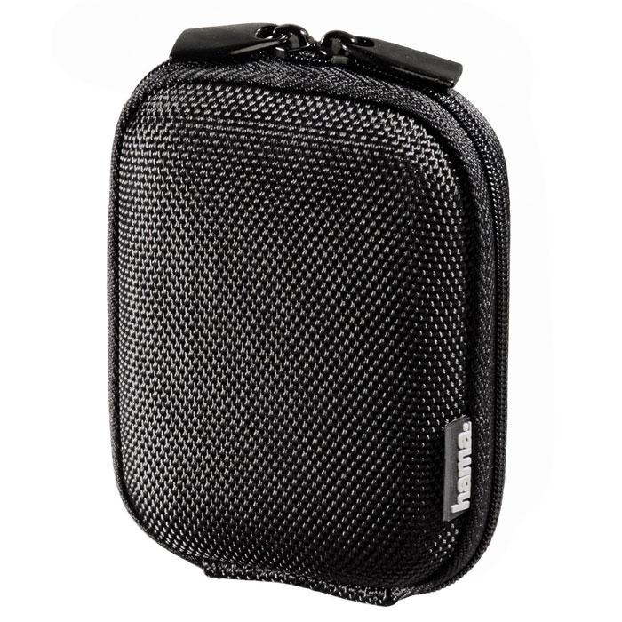 Hama Hardcase Colour Style 40G, Black чехол для фотокамеры103689Чехол Hama Hardcase Colour Style 40G для цифровой фотокамеры. Имеет отделение для карт памяти и аксессуаров, ремешок для переноски. Также оснащен петлей для ношения на поясе.