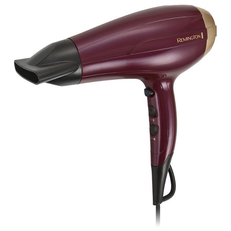 Remington D5219 Your Style фенD5219 Your StyleС помощью этого фена вы сможете создать уникальные образы для максимальной свободы самовыражения.Не важно, какую укладку вы хотите создать - вы всегда сможете воспользоваться нужной насадкой для фена. Для создания роскошных и блестящих прямых волос воспользуйтесь концентратором. Если ваши волосы вьются от природы, выберите диффузор для того, чтобы выделить и подчеркнуть кудри. Для придания волосам потрясающего объема отлично подойдет инновационная насадка для прикорневого объема.Ваши волосы будут послушными и блестящими, благодаря ионному кондиционированию. С помощью мотора, обеспечивающего мощность в 2300 Вт, а также различных комбинаций температурных и скоростных режимов, вы сможете полностью контролировать процесс укладки.С этим универсальным феном можно использовать дополнительные насадки, которые вы сможете приобрести отдельно: насадку Spin Curl для создания легких волн и экстра-широкий концентратор.Всегда хотели создавать множество причесок в домашних условиях? Теперь вы сможете это делать легко с помощью коллекции Your Style от Remington.