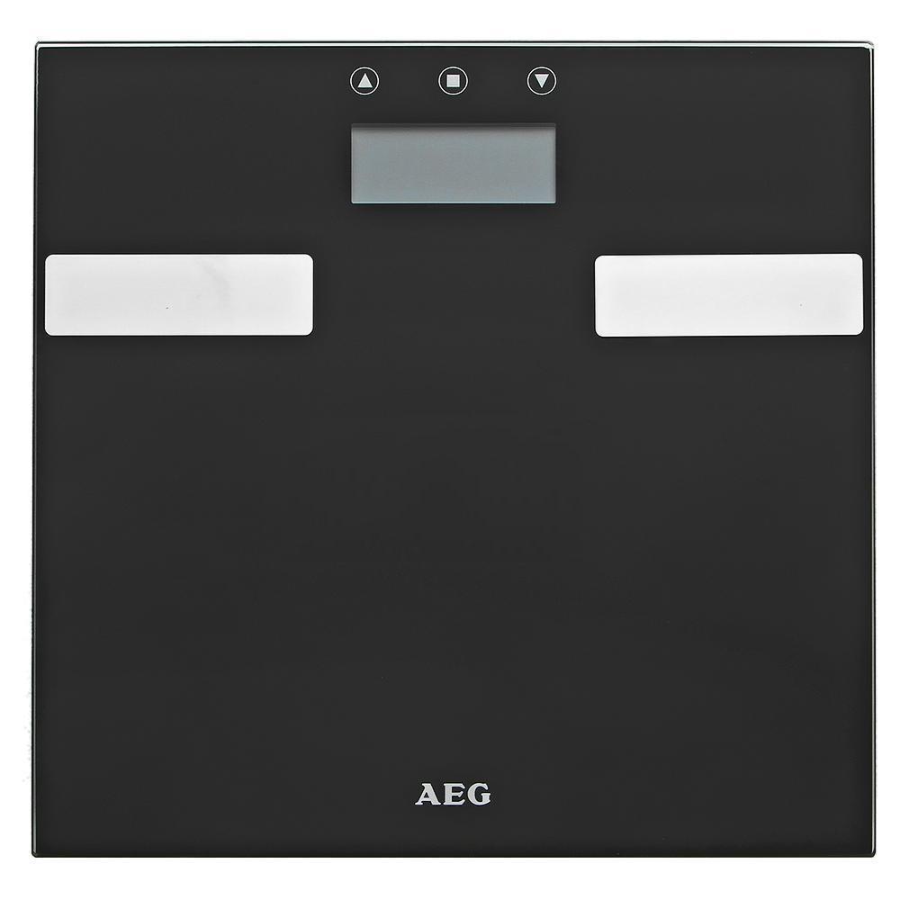 AEG PW 5644 FA напольные весыPW 5644 FAЭлектронные весы AEG PW 5644 FA со стеклянной подошвой идеально подойдут для анализа параметров тела - вес, жир, вода, мышечная масса, кости, расход калорий за день, индекс массы тела.Многофункциональный LCD-дисплейСистема Степ-онРазмер поверхности 30 х 30 смНескользящие ножки