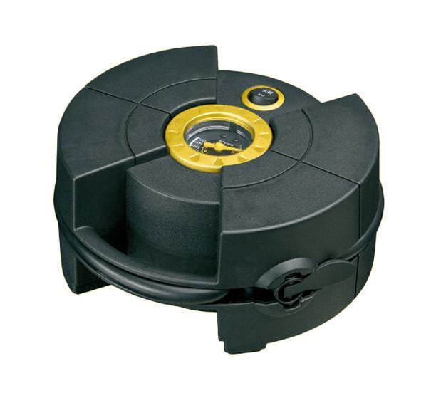 Компрессор автомобильный КАЧОК K30K30Новинка в линейке автомобильных компрессоров марки Качок отличающаяся необычным дизайном и компактностью. Автомобильный компрессор Качок К30 имеет специальные карманы для хранения насадок, провода и шланга, создающее удобство при эксплуатации компрессора. Быстросъемный наконечник позволит быстро подключить шланг к ниппелю на колесе, а разъем для прикуривателя компрессор к бортовой сети автомобиля, что в общем делает работу с автомобильным компрессором Качок К30 быстрой и удобной!Технические характеристики компрессора автомобильного Качок К 30Допустимое напряжение: 10-13,5 В Максимальный ток потребления: 10 А Максимальное давление: 10 Атм. (кг/см2) Время непрерывной работы: 10 мин. Производительность: 15 л/мин. Рабочая температура: -35°С +80°С Масса: 1 кг Размеры: 175 x180 x80 мм Подключение в прикуриватель Быстронакидной наконечник Специальные карманы для шланга и проводки Комплект поставки: Компрессор Качок К30 Сумка-чехол для переноски Набор переходных штуцеров - 3 штуки Инструкция по эксплуатации Упаковочная коробка Материал: металл, пластик; цвет: черный Материал: металл, пластик; цвет: черный
