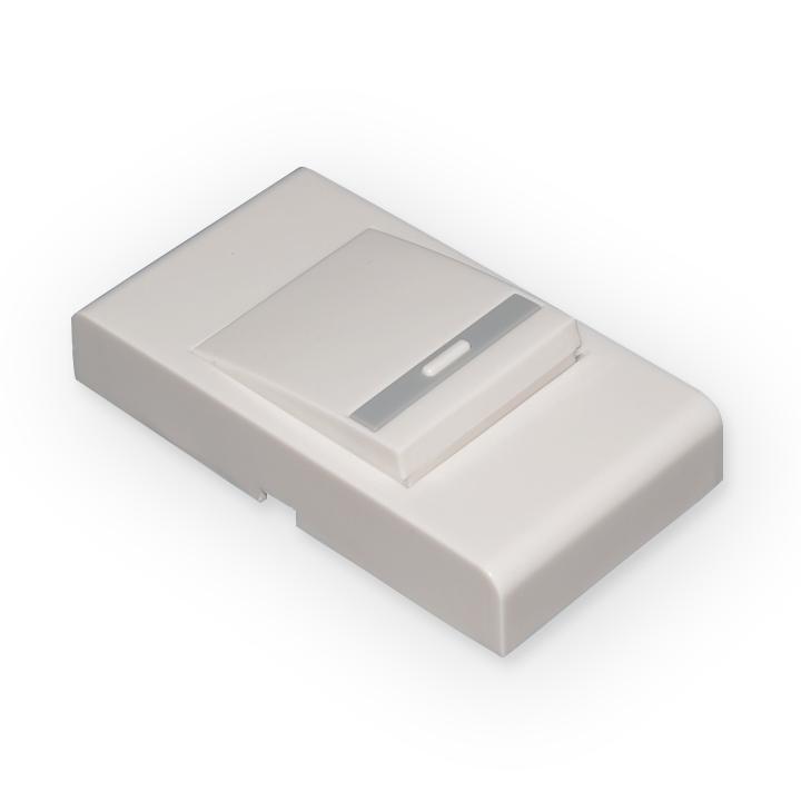 Кнопка для проводного звонка Elektrostandard DBB03WM Белыйa031654Данная модель кнопки предназначена для работы с проводными звонками Elektrostandard: DBB03WM. Возможна работа с аналогичными моделями.