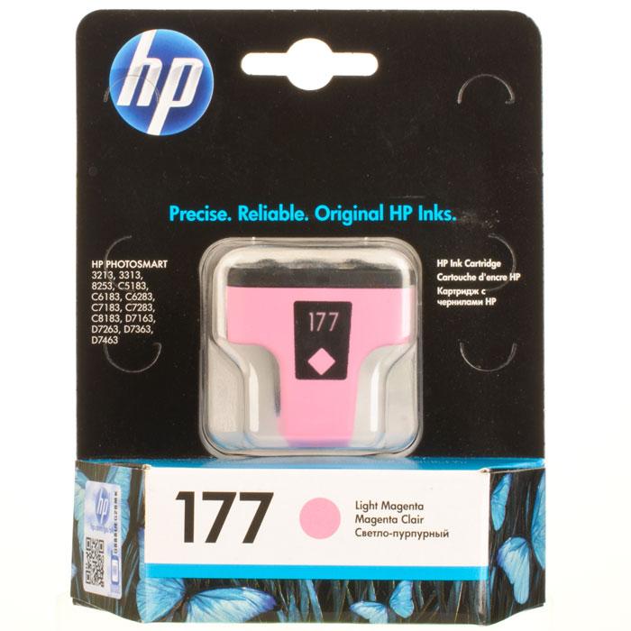 HP C8775HE(177), Light Magenta струйный картриджC8775HEКартридж HP 177 с чернилами Vivera для струйных принтеров HP PhotoSmart.