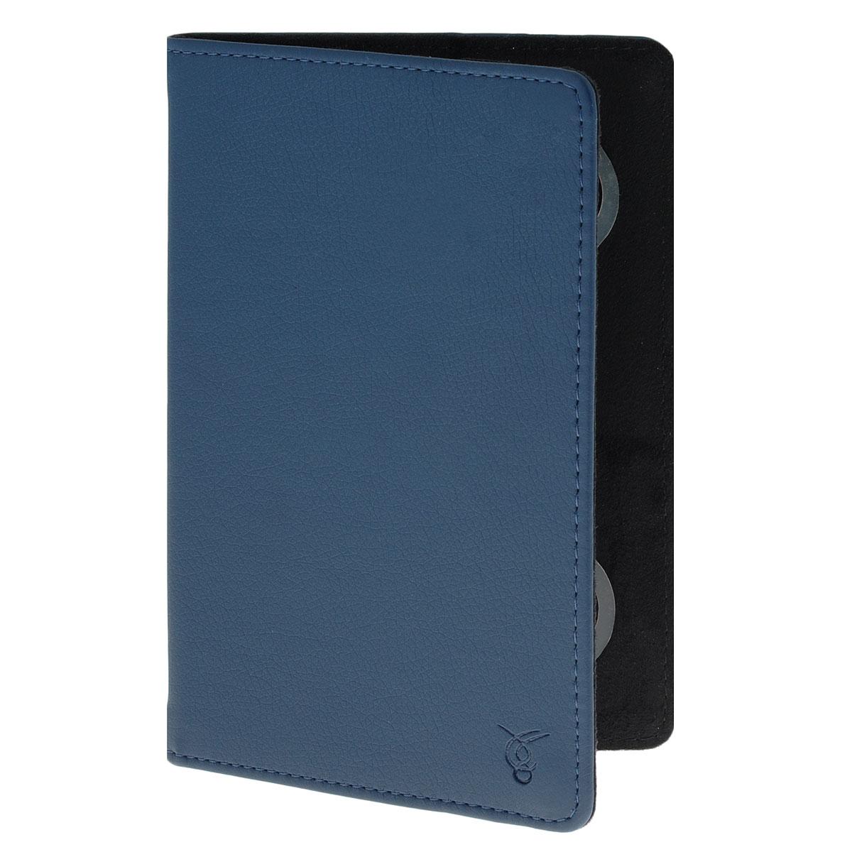 Vivacase Basic чехол для планшетов 7, Blue (VUC-CBS07-blue)VUC-CBS07-blueЧехол Viva Basic предназначен для защиты электронных устройств от механических повреждений и влаги. Крепление PVS позволяет надежно зафиксировать устройство.