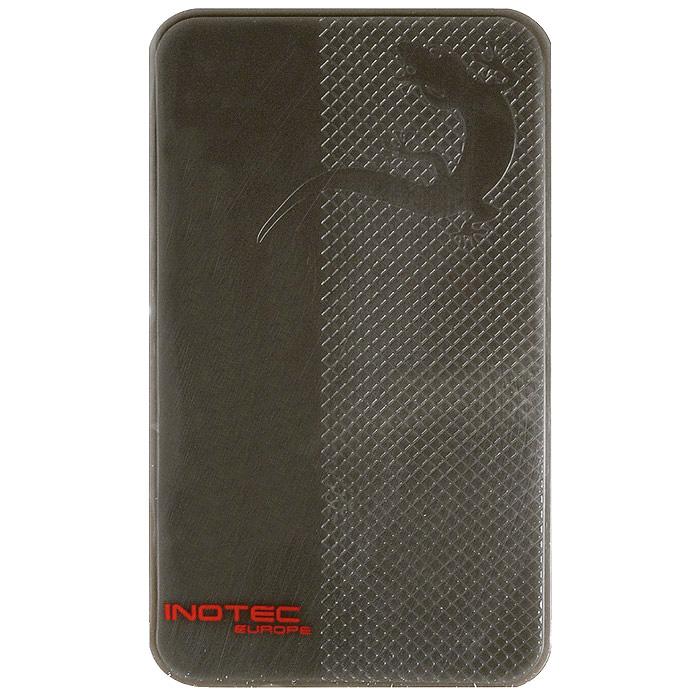 Держатель универсальный Nano Pad, цвет: черный1Nano Pad без какого-либо клея или магнита прекрасно будет удерживать Твой мобильный телефон, ноутбук, очки, MP3, GPS и другие мелкие предметы - даже при агрессивном вождении! Достаточно разместить Nano Pad, например, в районе приборной доски автомобиля, положить на него нужный гаджет - и можно быть уверенным, что во время даже самого крутого поворота он не окажется под ногами и не вылетит из машины в открытое окно.Идеален также для дома и офиса. Продукт многократного использования, прочный, водостойкий, сохраняет эффективность при высоких и низких температурах. Необычайно практичен.Сочетание инновационного технологического решения и элегантного дизайна - замечательные цвет и форма коврика. Nano Pad - это не только экстравагантный гаджет для водителей, Nano Pad - просто незаменимая вещь. Это то, что ты всегда захочешь иметь под рукой - в машине, в офисе, дома. Убедись, как здорово иметь в машине Nano Pad. Забудь о падении предметов при каждом резком повороте и торможении!Даная технология разработана компанией INOTEC и изначально была предназначена для воздушной авиации.