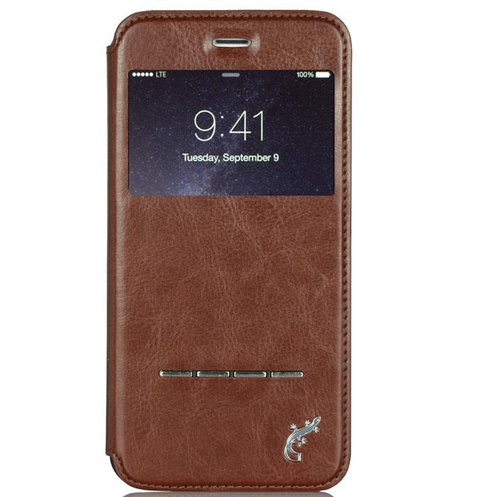 G-Case Slim Premium чехол для iPhone 6 Plus, BrownGG-543С каждым новым поколением электронных устройств планшеты становятся технически более мощными, интеллектуальными аксессуарами с массой функций и возможностей. Однако их прочность оставляет желать лучшего. Именно поэтому нужно сразу позаботиться о защите от ударов и прочих повреждений своего гаджета и купить чехол G-Case Slim Premium для iPhone 6 Plus. Только тогда можно спать спокойно и быть уверенным в полной сохранности своего электронного друга. Благодаря тщательной продуманности конструкции вплоть до мельчайших деталей футляр становится изысканным и стильным аксессуаром и дополнением к айфону. Модный и практичный флип-кейс, благодаря высококачественному и прочному материалу, обеспечивает стопроцентную ежедневную защиту устройства от проникновения внутрь корпуса влаги, налипания на дисплей грязи и скапливания пыли. Все, что нужно для защиты планшета от ударов и падений, так это купить чехол G-Case Slim Premium. Комфорт пользования очевиден. Это и свободный доступ ко всем необходимым портам и разъемам, и возможность фото- и видеосъемки, и открытость клавиш. Вы можете фотографировать, снимать видео, слушать музыку через наушники и заряжать устройство без необходимости снимать чехол. Элегантный ультратонкий флип-кейс придаст утонченности и шарма не только самому аксессуару, но и его владельцу. Специальная пропитка поверхности футляра увеличивает антискользящие свойства материала, за счет чего он не выскальзывает из кармана, сумки или портфеля, а также удобно располагается в руке. Кроме того, на передней и задней крышках обложки не будут оставаться отпечатки пальцев. Флип-кейс надежно защищает устройство от любых повреждений при активном ежедневном использовании.