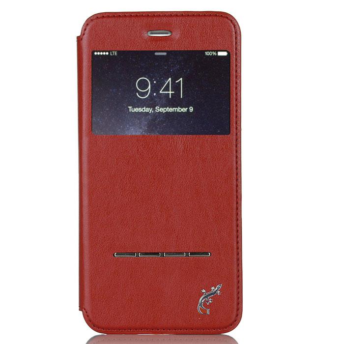 G-Case Slim Premium чехол для iPhone 6 Plus, RedGG-529С каждым новым поколением электронных устройств планшеты становятся технически более мощными, интеллектуальными аксессуарами с массой функций и возможностей. Однако их прочность оставляет желать лучшего. Именно поэтому нужно сразу позаботиться о защите от ударов и прочих повреждений своего гаджета и купить чехол G-Case Slim Premium для iPhone 6 Plus. Только тогда можно спать спокойно и быть уверенным в полной сохранности своего электронного друга. Благодаря тщательной продуманности конструкции вплоть до мельчайших деталей футляр становится изысканным и стильным аксессуаром и дополнением к айфону. Модный и практичный флип-кейс, благодаря высококачественному и прочному материалу, обеспечивает стопроцентную ежедневную защиту устройства от проникновения внутрь корпуса влаги, налипания на дисплей грязи и скапливания пыли. Все, что нужно для защиты планшета от ударов и падений, так это купить чехол G-Case Slim Premium. Комфорт пользования очевиден. Это и свободный доступ ко всем необходимым портам и разъемам, и возможность фото- и видеосъемки, и открытость клавиш. Вы можете фотографировать, снимать видео, слушать музыку через наушники и заряжать устройство без необходимости снимать чехол. Элегантный ультратонкий флип-кейс придаст утонченности и шарма не только самому аксессуару, но и его владельцу. Специальная пропитка поверхности футляра увеличивает антискользящие свойства материала, за счет чего он не выскальзывает из кармана, сумки или портфеля, а также удобно располагается в руке. Кроме того, на передней и задней крышках обложки не будут оставаться отпечатки пальцев. Флип-кейс надежно защищает устройство от любых повреждений при активном ежедневном использовании.