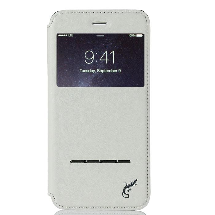 G-Case Slim Premium чехол для iPhone 6 Plus, WhiteGG-525С каждым новым поколением электронных устройств планшеты становятся технически более мощными, интеллектуальными аксессуарами с массой функций и возможностей. Однако их прочность оставляет желать лучшего. Именно поэтому нужно сразу позаботиться о защите от ударов и прочих повреждений своего гаджета и купить чехол G-Case Slim Premium для iPhone 6 Plus. Только тогда можно спать спокойно и быть уверенным в полной сохранности своего электронного друга. Благодаря тщательной продуманности конструкции вплоть до мельчайших деталей футляр становится изысканным и стильным аксессуаром и дополнением к айфону. Модный и практичный флип-кейс, благодаря высококачественному и прочному материалу, обеспечивает стопроцентную ежедневную защиту устройства от проникновения внутрь корпуса влаги, налипания на дисплей грязи и скапливания пыли. Все, что нужно для защиты планшета от ударов и падений, так это купить чехол G-Case Slim Premium. Комфорт пользования очевиден. Это и свободный доступ ко всем необходимым портам и разъемам, и возможность фото- и видеосъемки, и открытость клавиш. Вы можете фотографировать, снимать видео, слушать музыку через наушники и заряжать устройство без необходимости снимать чехол. Элегантный ультратонкий флип-кейс придаст утонченности и шарма не только самому аксессуару, но и его владельцу. Специальная пропитка поверхности футляра увеличивает антискользящие свойства материала, за счет чего он не выскальзывает из кармана, сумки или портфеля, а также удобно располагается в руке. Кроме того, на передней и задней крышках обложки не будут оставаться отпечатки пальцев. Флип-кейс надежно защищает устройство от любых повреждений при активном ежедневном использовании.