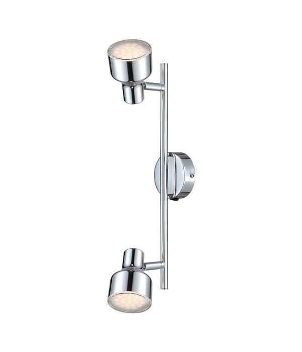 56213-2 ROIS Спот56213-2Споты ROIS 56213-2 в стиле модерн - идеальный вариант для оформления элегантного интерьера спальни. Металлическое основание серого цвета, материал плафона из пластика. Точечный светильник с максимальной мощностью 8W осветит жилое пространство, площадью не более 2 кв.м.